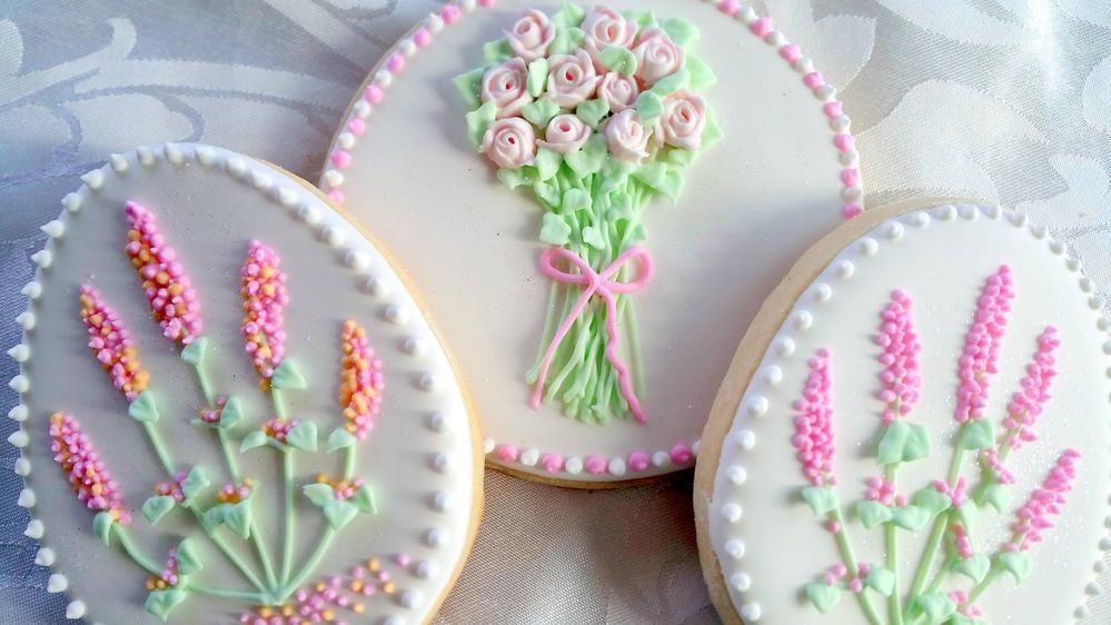 flowers bouquet Cookies // Sandy Garvey   Cookie Connection ...