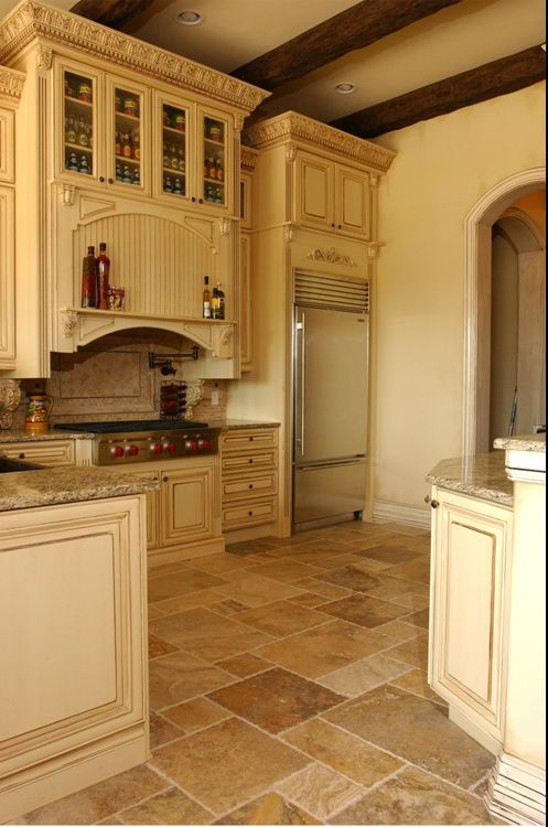 Tuscan Kitchen Floor Tiles