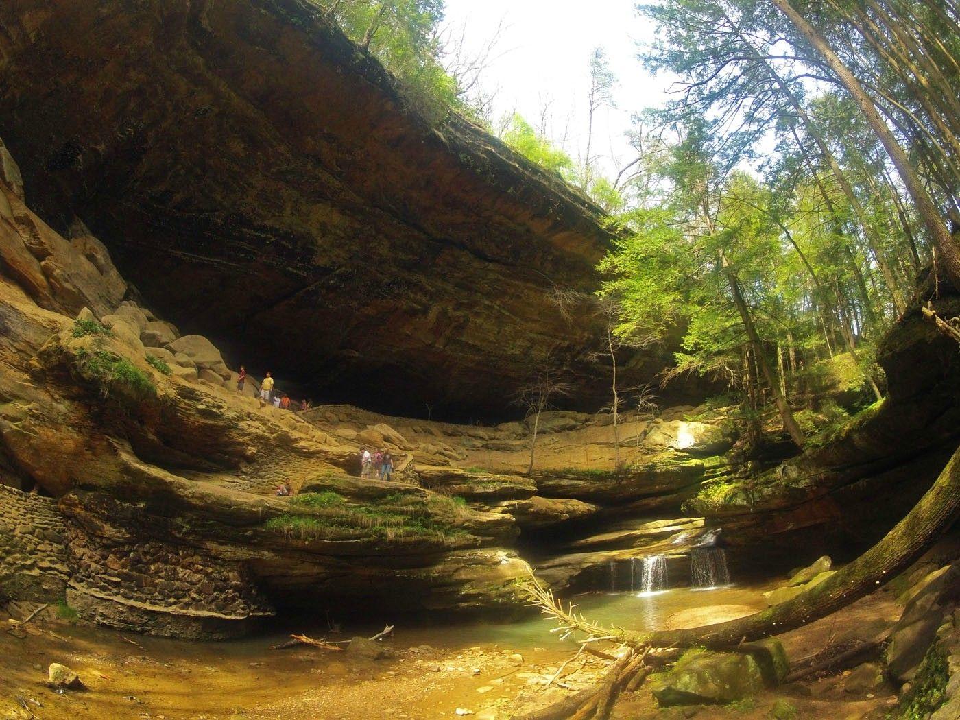 Old Man S Cave Ohio