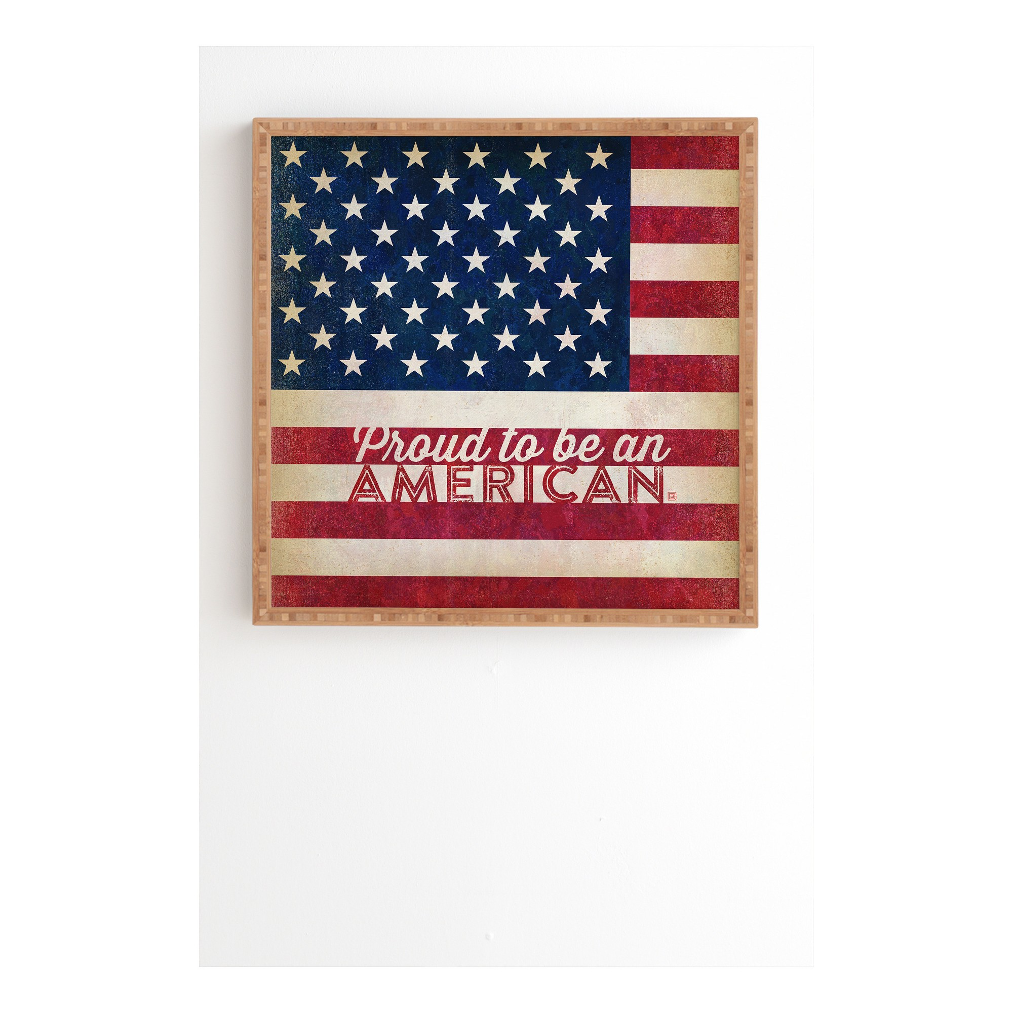 Anderson Design Group Proud To Be An American Flag Framed