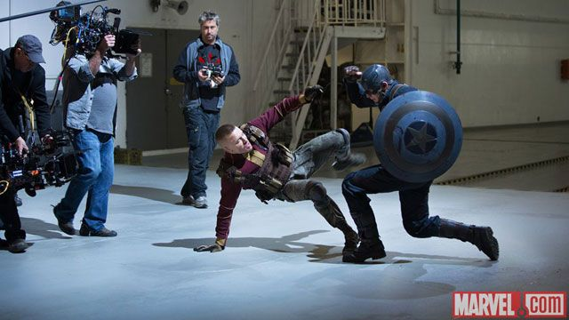 Image result for winter soldier behind the scenes gsp