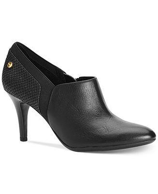 cabc5609f2c6 Calvin Klein Women s Jeanine Shooties - Booties - Shoes - Macy s ...