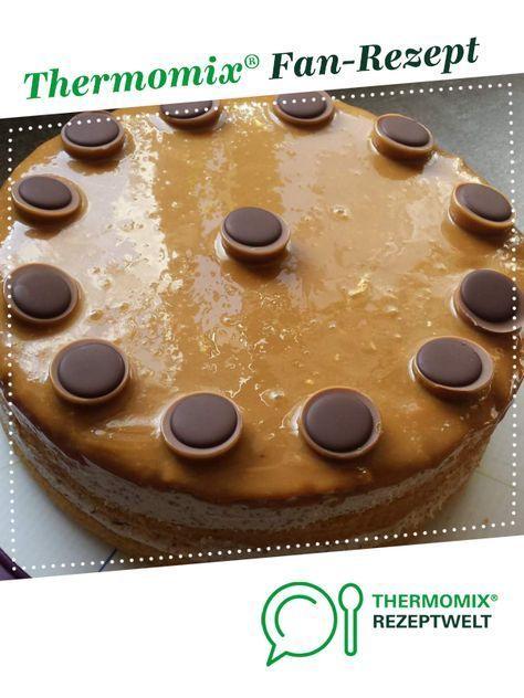 Toffifeetorte von Sonnigirl. Ein Thermomix ® Rezept aus der Kategorie Backen süß auf www.rezeptwelt.de, der Thermomix ® Community.