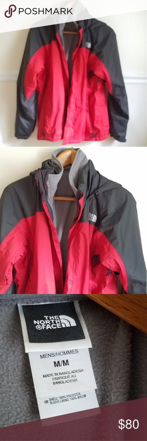 The North Face 2 In 1 Men S Hyvent Jacket Medium The North Face North Face Jacket Jackets [ 1740 x 580 Pixel ]