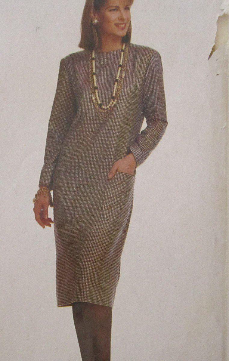 McCalls Pattern 4450 Stitch n Save Misses Dress Uncut Sizes 12 14 16 ...