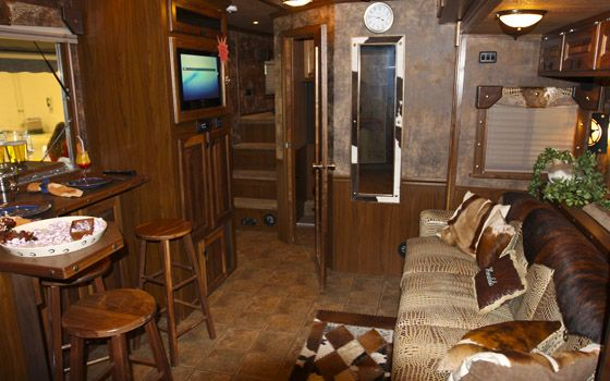 Wonderful Luxury Horse Trailers With Living Quarters Car Pictures