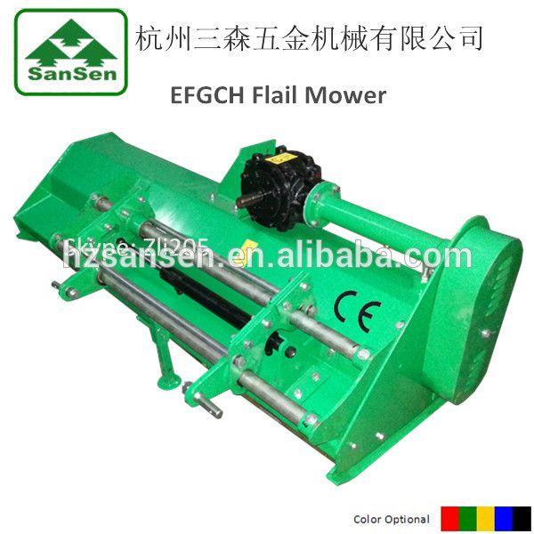 EFGCH 3 point Flail Mower with Hydraulic side shift - Y blade or