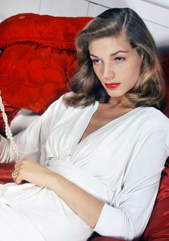 Lauren Bacall en 15 looks Lauren Bacall Glamour