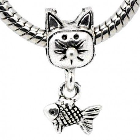 charms pandora poisson