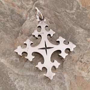 Retired-James-Avery-Trinity-Cross-Pendant-Sterling-Silver-925