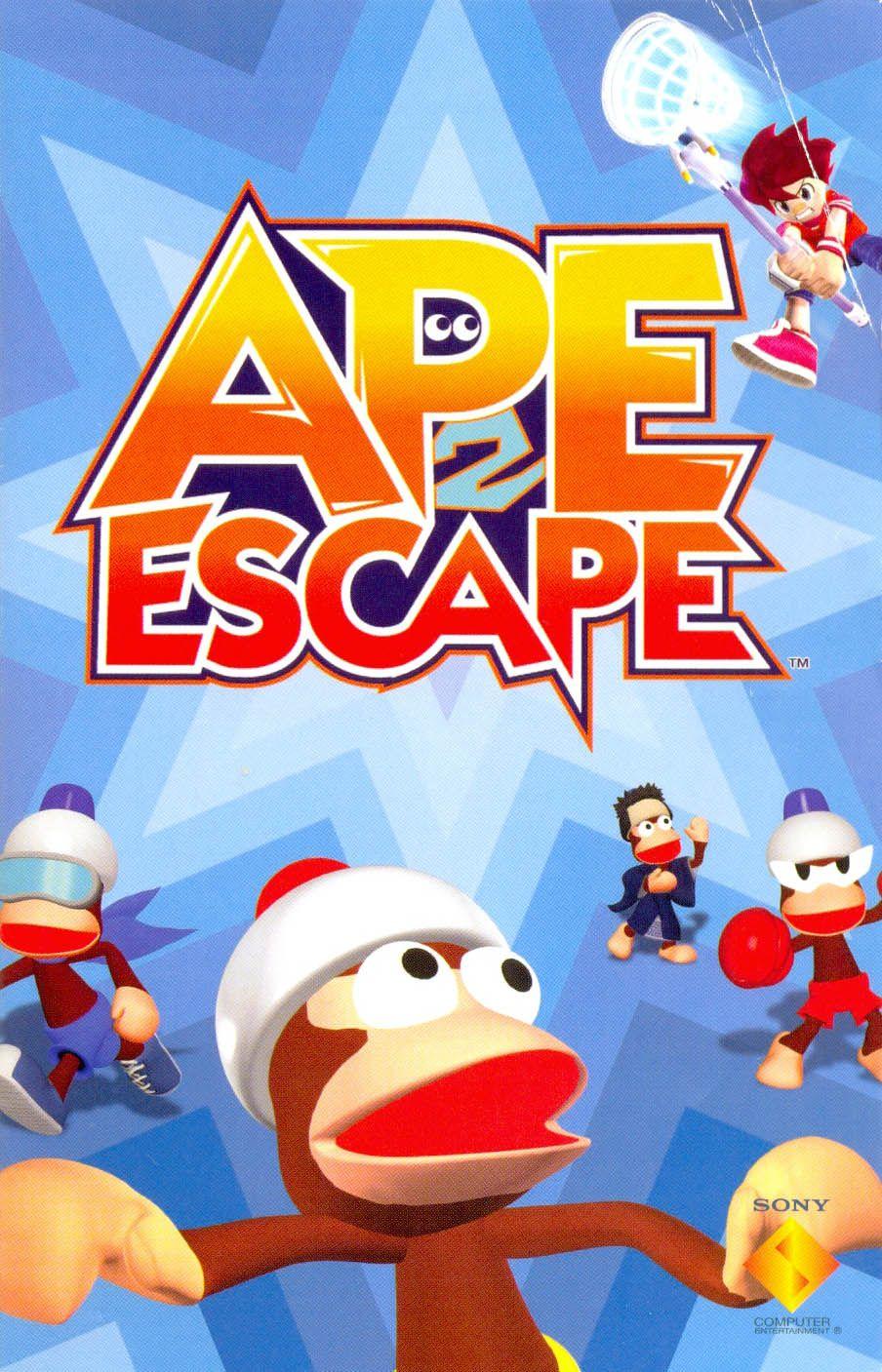 Ape Escape 2 Retro gaming art, Apes, Game themes