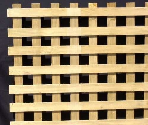 1 Premium Garden Square Treated Hem Fir Wood Lattice 4x8 Panel In A 10 Pack With Freight Included Capitol City Lumber By Capitol City Fir Wood Wood Lattice