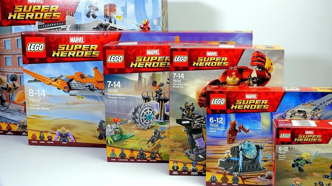 Lego Marvel Infinity War All Sets Review Link In Bio Captainamerica Lego Avengersinfinitywar Aven Lego Marvel Marvel Infinity War Lego Super Heroes