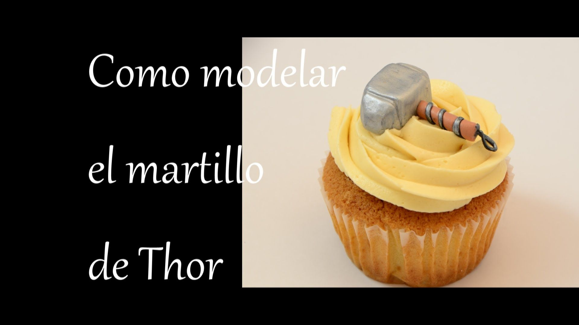 Como Hacer El Martillo De Thor Los Vengadores How To Make Fondant Cakes Food Fondant