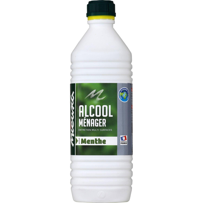 Alcool Menager Menthe Mieuxa La Bouteille De 1 L A Prix Alcool Et Menthe