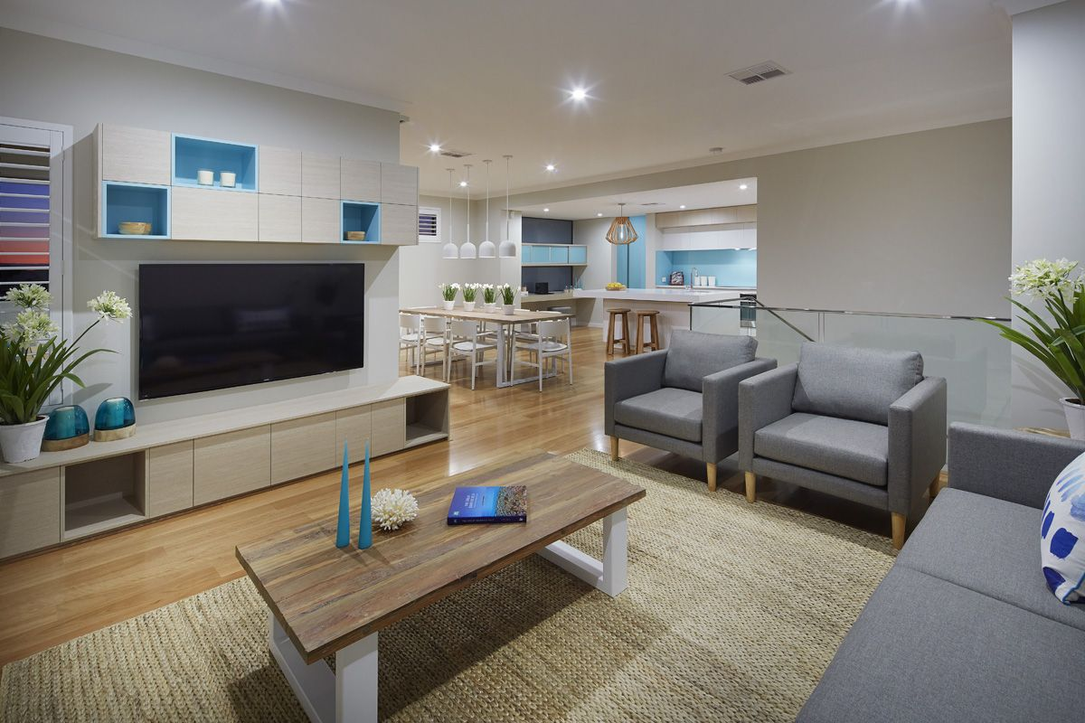 Inside our new two storey #displayhome - The #FloridaPlatinum ...