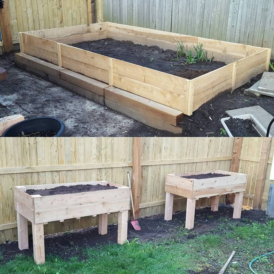 Our new garden beds. Thank you!   Do It Yourself Home ...