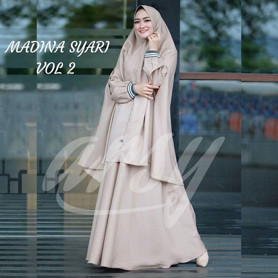 Model baju gamis syari modern terbaru 10 - 10 #muslimah
