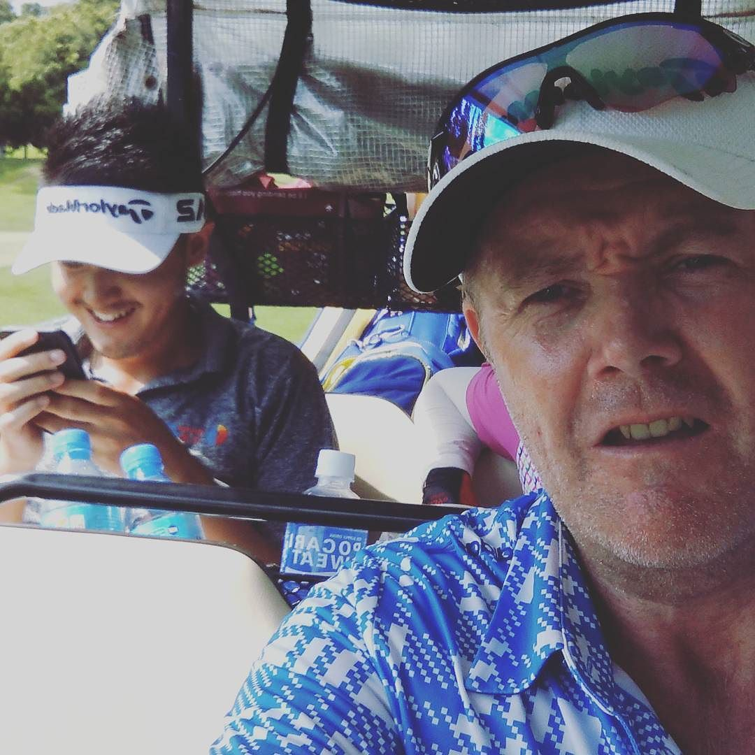 More cart life in today's pro am golf caddie loopinlife