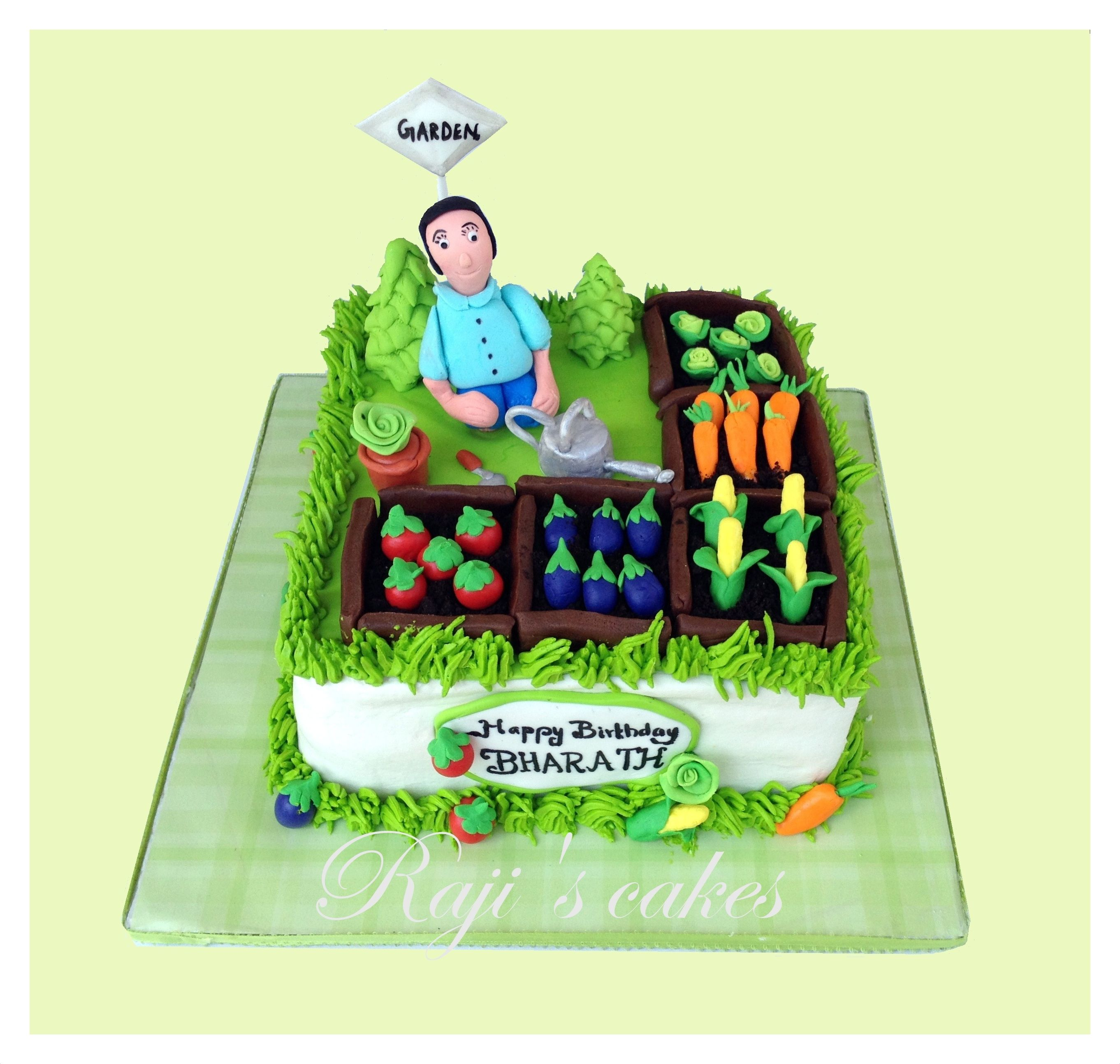 Vegetable Garden Cake! | Vegetable garden cake, Garden ...