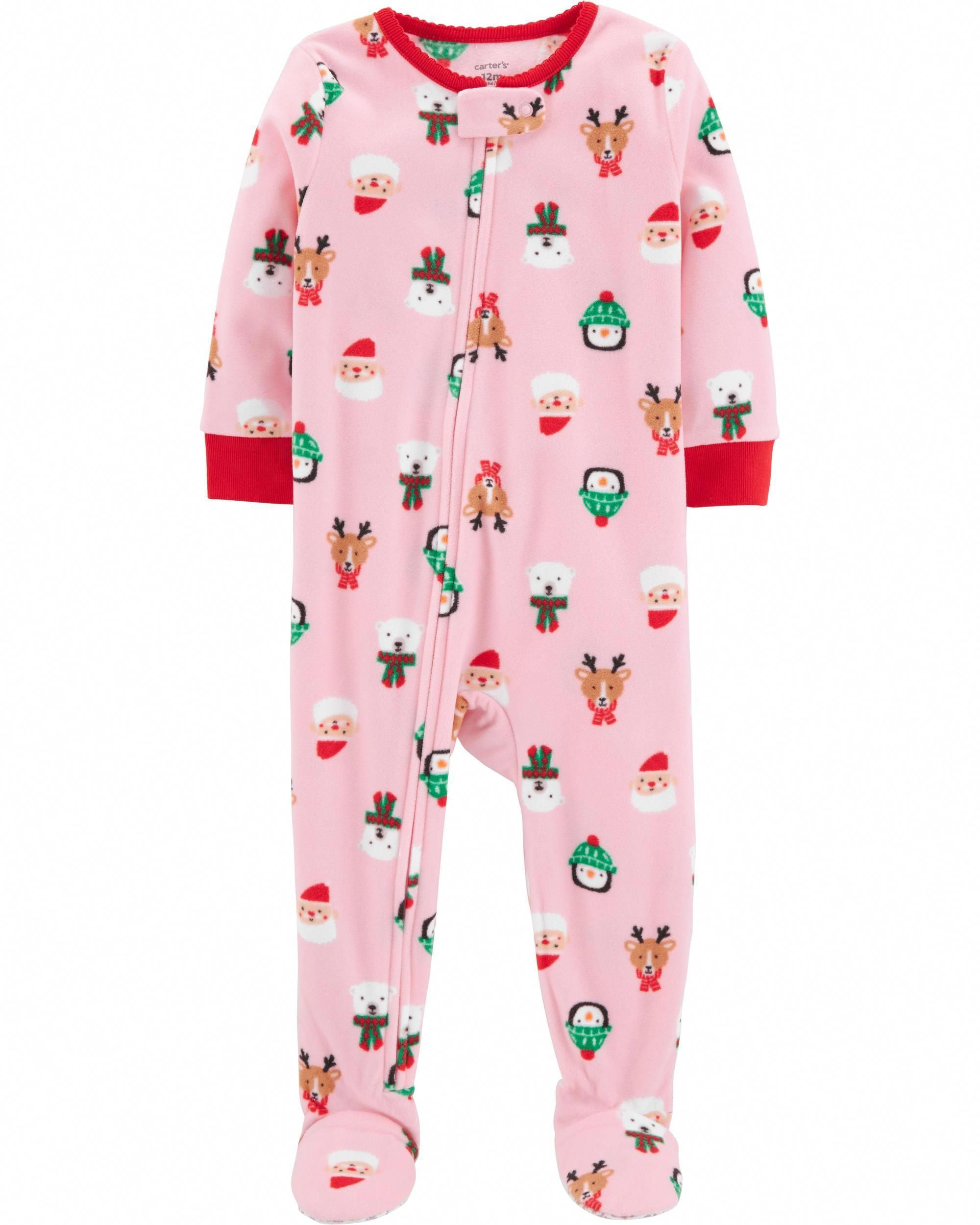 1-Piece Christmas Fleece PJs  a0d77c0e4