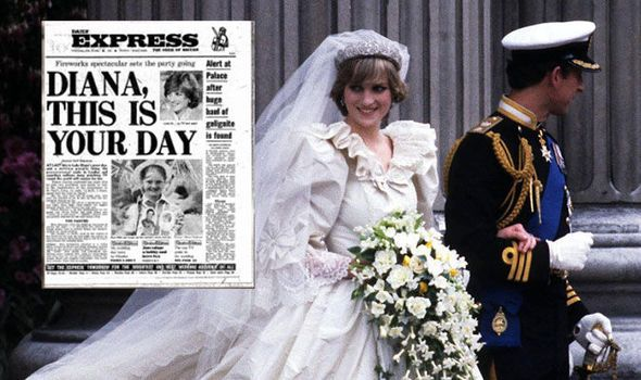 Princess Diana married Charles on this day