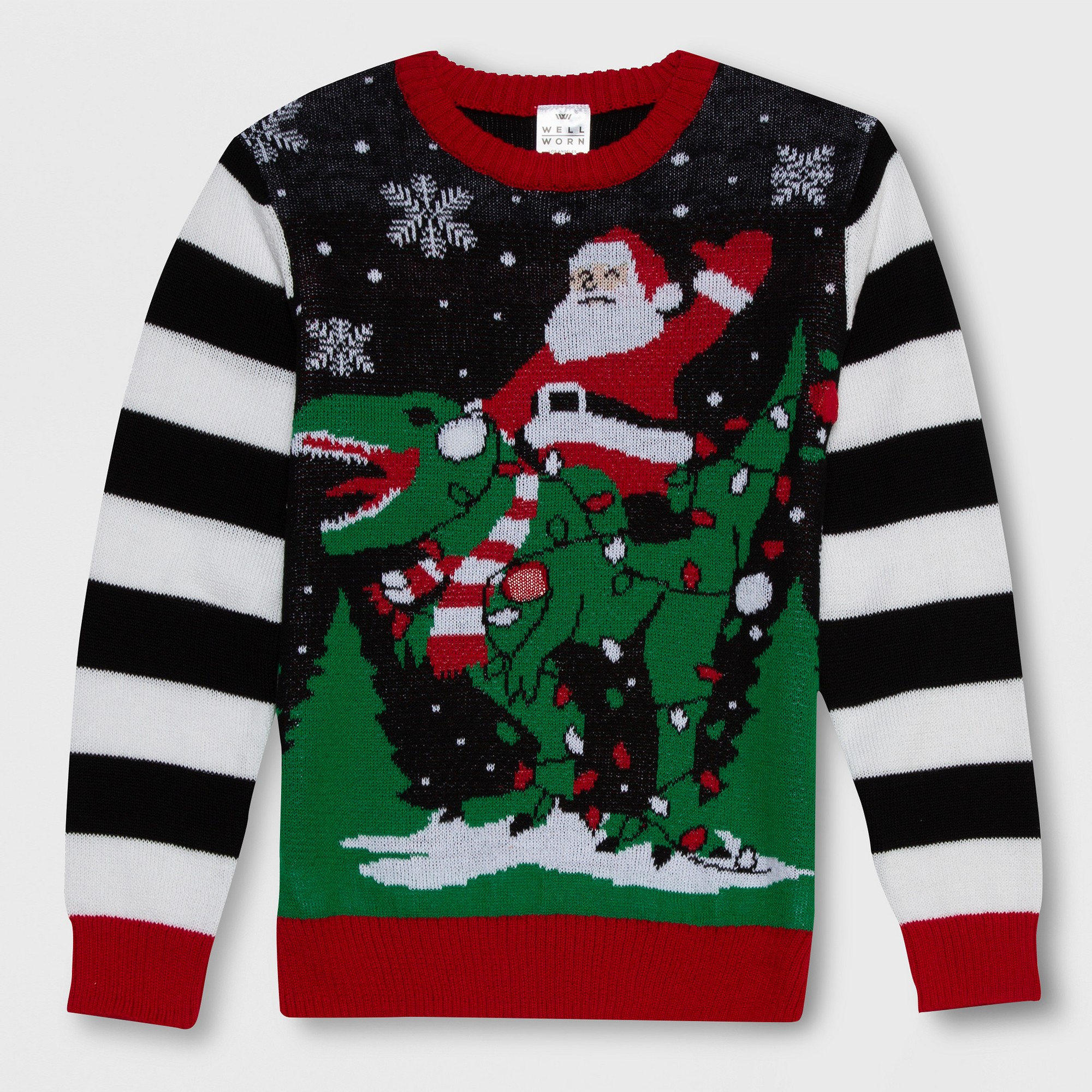 Kids Christmas Jumper Super Santa Girls Boys Unisex Knitted Jumpers 2 to 12 Year