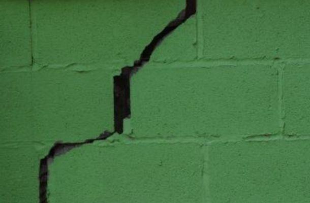 How To Patch A Concrete Block Concrete Block Walls Cinder Block Walls Basement Walls