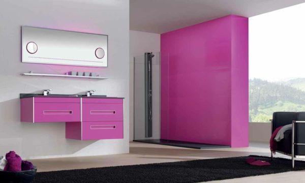 Pinke Wandfarbe u2013 Wie können Sie Ihre Wände kreativ streichen - farben fr wnde streichen
