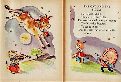 The Cow Jumped Over Moon Children