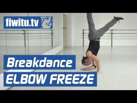 Break Dance lernen: Elbow Freeze + Handstand - fiwitu.tv - YouTube