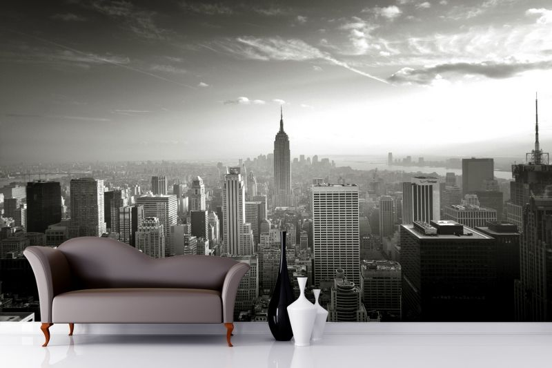 Empire State Skyline Wallpaper Mural