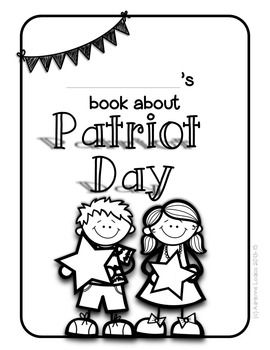 Patriot Day 9/11 printable book for primary grades