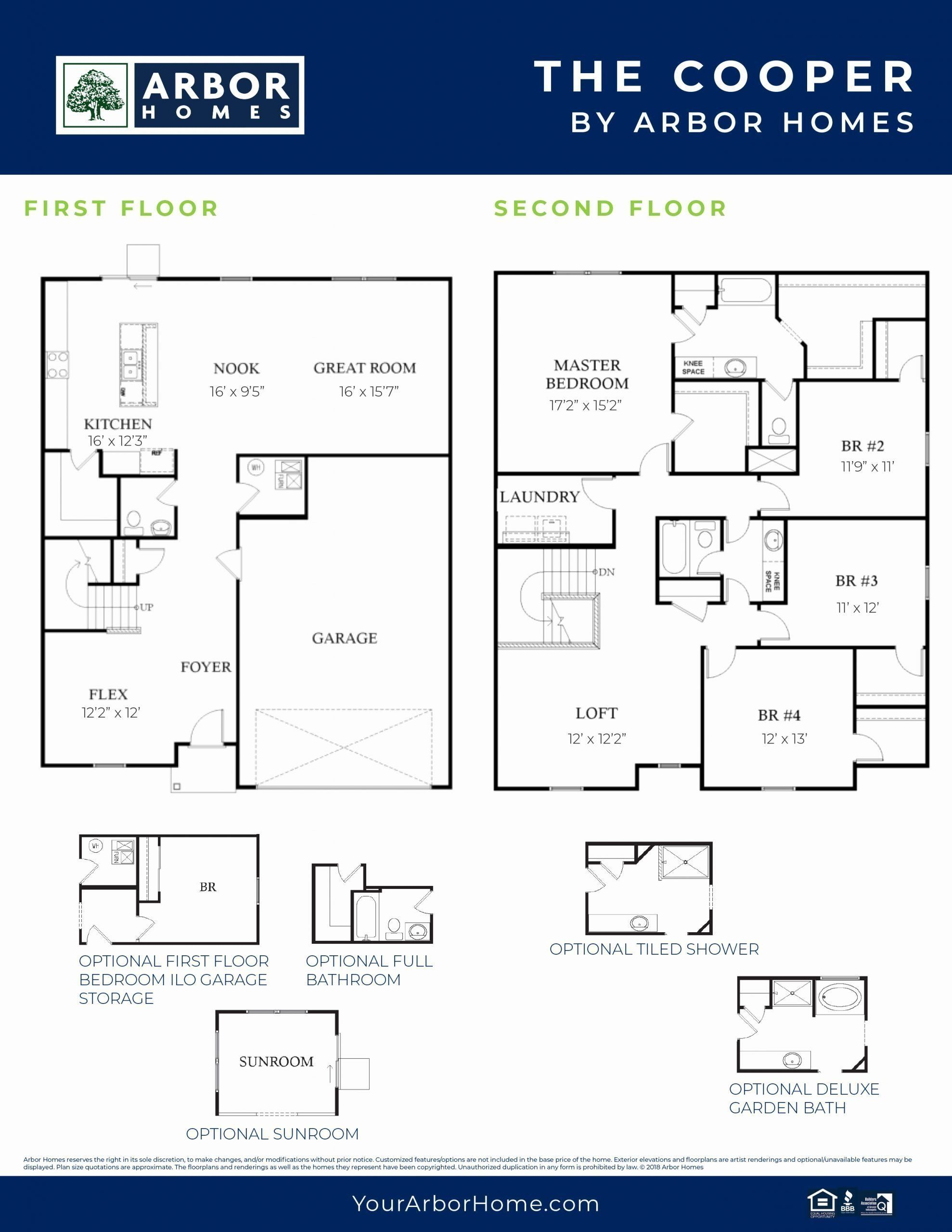 Arbor Homes Design Center Best Of The Cooper 2 House Design House Floor Plans Design