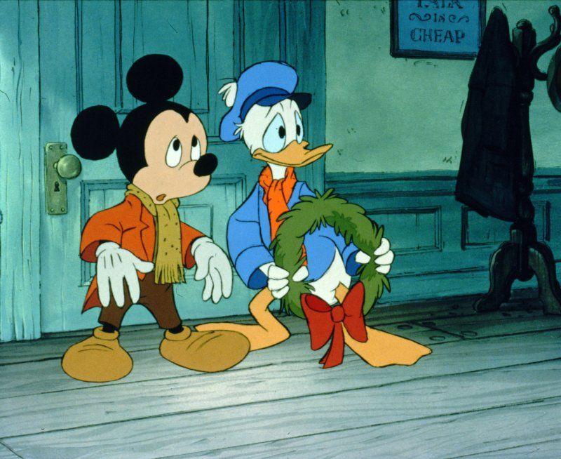 Mickey Mouse & Donald Duck Mickeys Christmas Carol