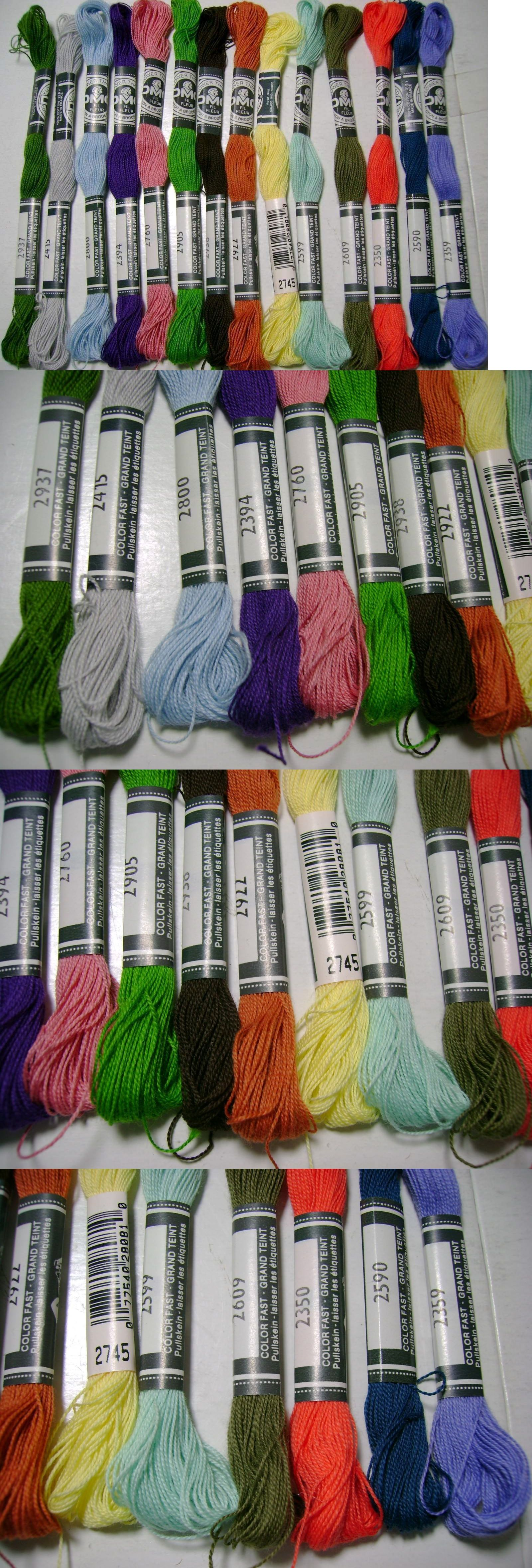 Hand Embroidery Floss And Thread 28144 14 Dmc Flower Thread Embroidery Floss 14 Colors Nos J Buy It Now On With Images Embroidery Floss Floss Hand Embroidery