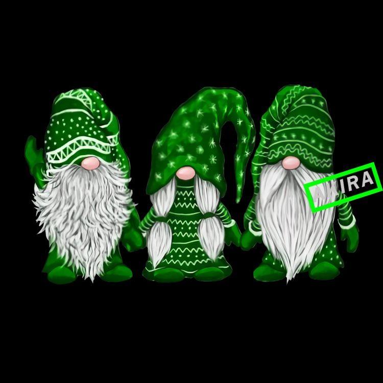 Three Gnomes Green Png Green Gnome Png Gnome Christmas Buy T Shirt Design Buy T Shirt Designs Christmas Gnome Gnomes Christmas Ornaments