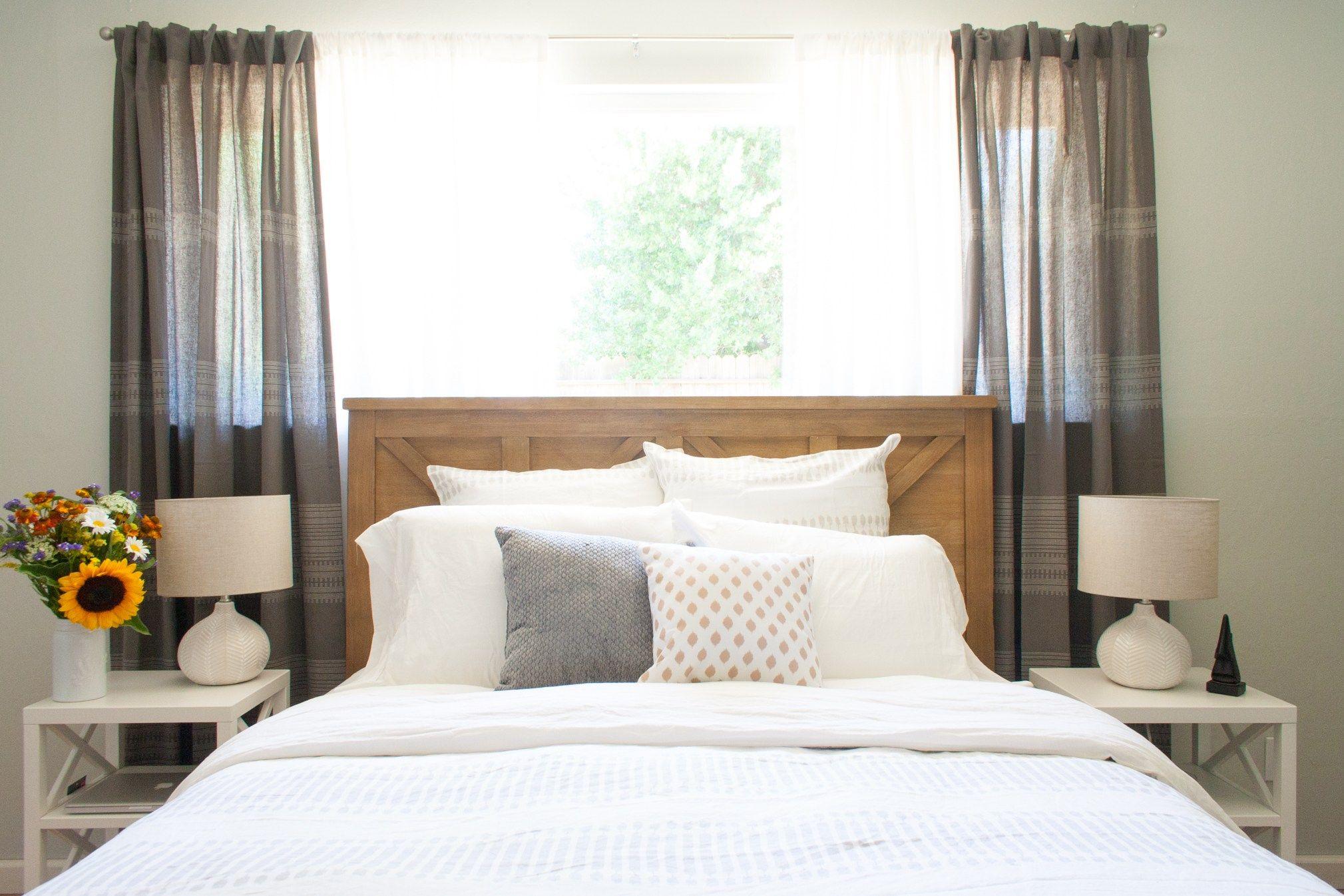 California Bedroom Reveal  interior design / California casual / west elm bedding / target bedroom / bedroom design / bedroom / before and after / target / west elm / world market / e-design