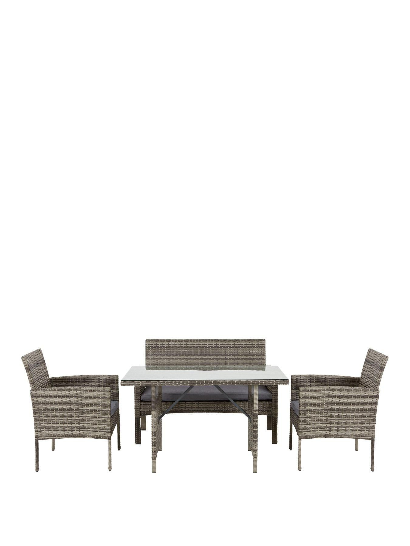 Hamilton Casual Dining Set Garden Furniture In Grey Products In 2019 Garden Furniture Furniture Modern Garden Furniture