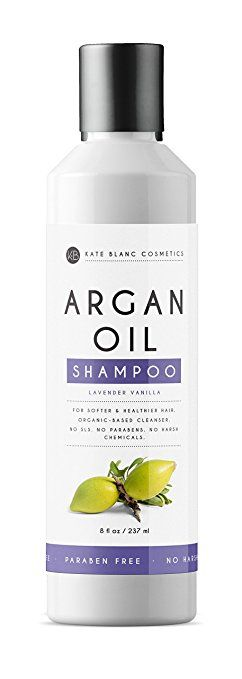Argan Oil Shampoo 8oz By Kate Blanc Sulfate Free Organic Ingredients No Toxic Chemicals Moisturi Argan Oil Shampoo Paraben Free Products Hair Conditioner