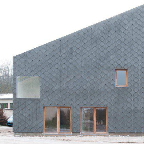 Image result for zinc shingles tejados pinterest for Revestimiento exterior zinc