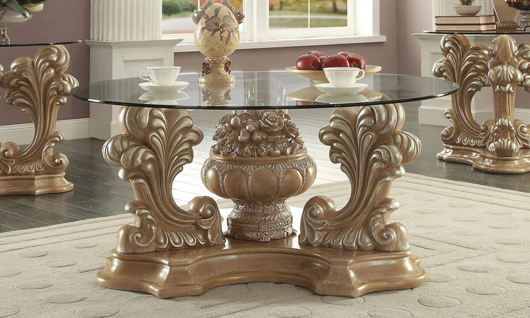 Pickle Frost Antique Silver Coffee Table Traditional Homey Design Hd 7012 Hd C7012 Coffee Table Silver Coffee Table Royal Furniture [ 1080 x 1800 Pixel ]
