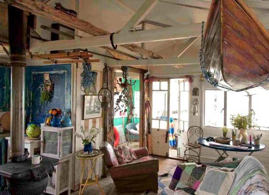 Coastal Farmhouse Living Room Chairs