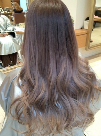 Brown hair ombre to ash brown google search hair for Ombre hair haarfarbe