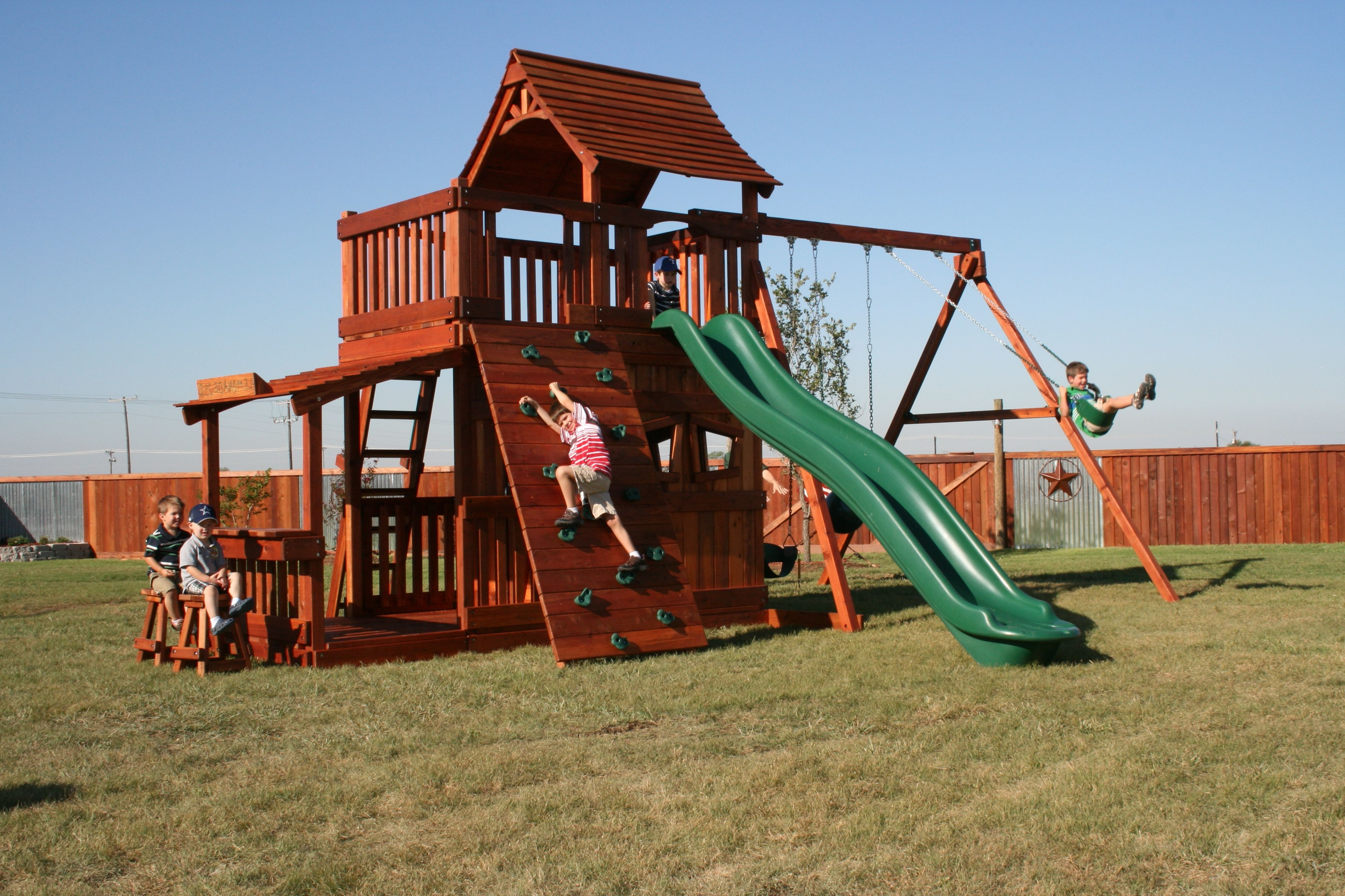 Small Wooden Swing Sets For Kids Intended For Backyard Playground Kids  Backyard Playground Designs For Kids And Comfortable Home Is The Hope Of  Everyone.