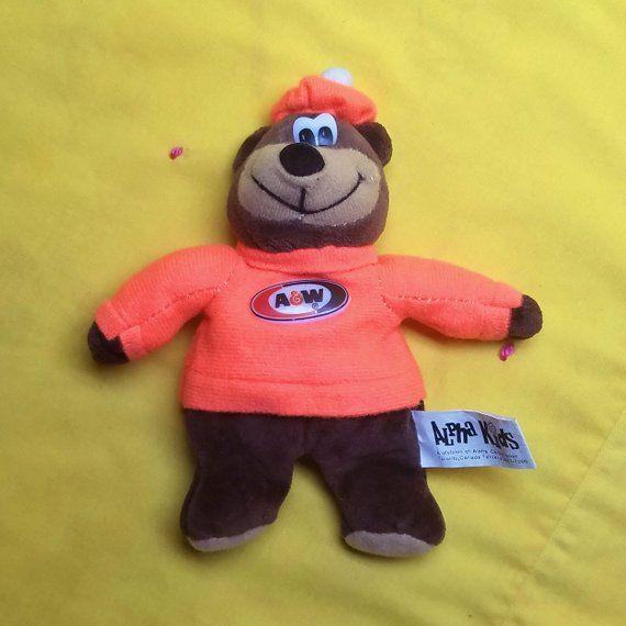 Excellent Vintage Aw Root Beer Bear Bean Bag Collectible By Alpha Pdpeps Interior Chair Design Pdpepsorg