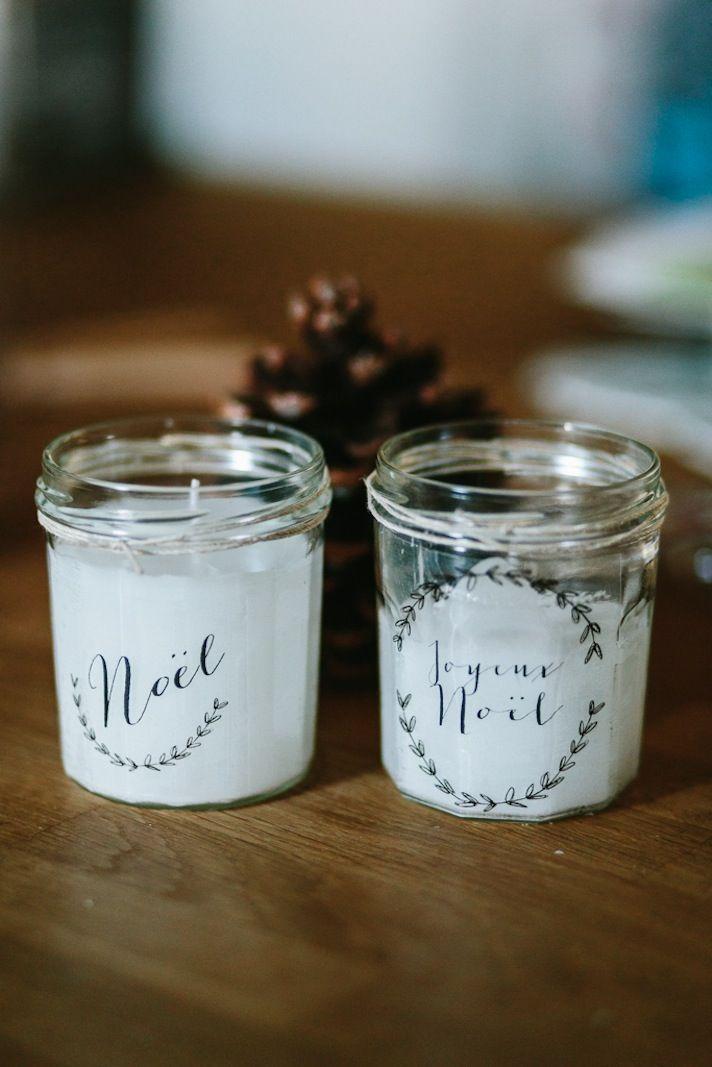 Favori ▽ Des Bougies DIY pour Noël △ - Le Blog de Madame C | Christmas  OL35
