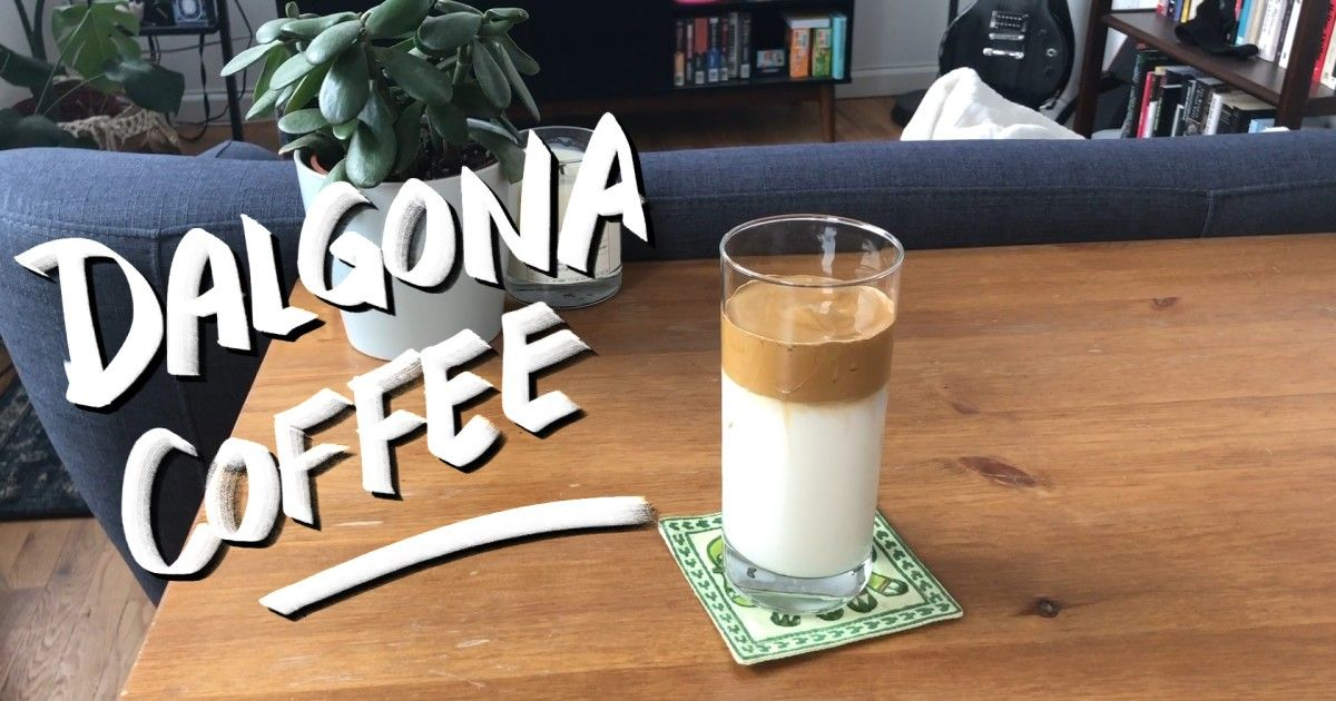 Dalgona coffee is the latest Instagram food trend in South
