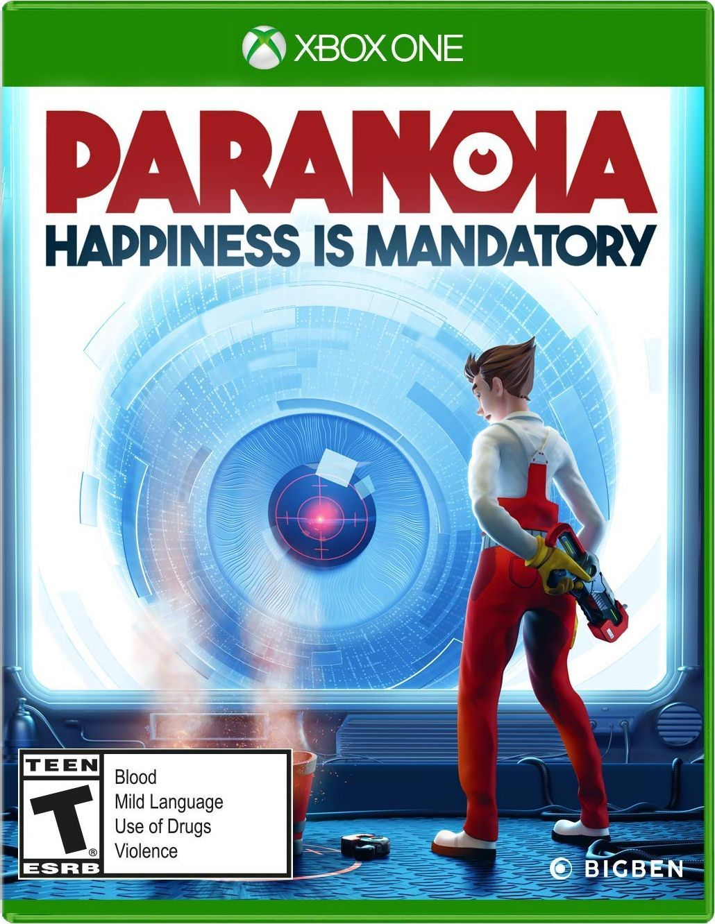 Paranoia in 2020 Video games xbox, Xbox one, Video games