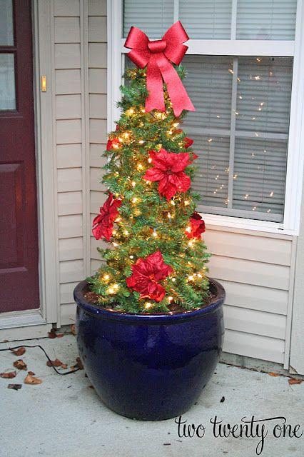 Tomato Cage Christmas Tree FRONT PORCH IDEAS Pinterest Tomato